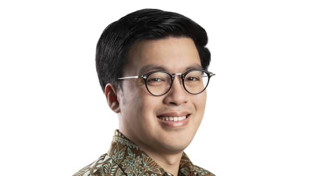 Kevin Aluwi, đồng sáng lập kiêm Giám đốc điều hành của nền tảng gọi xe Indonesia Gojek, thuộc Tập đoàn GoTo
