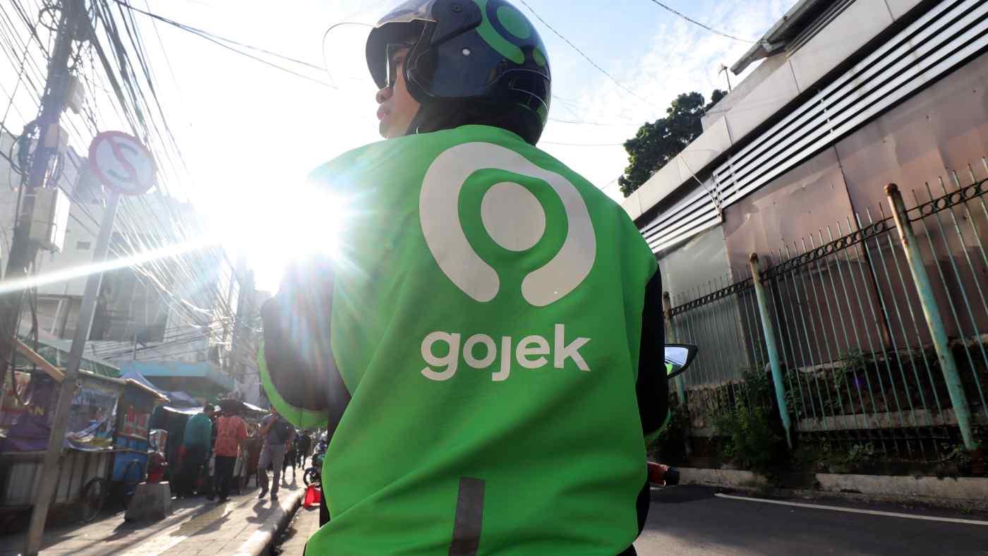 Một tài xế Gojek. Ảnh: Ken Kobayashi.
