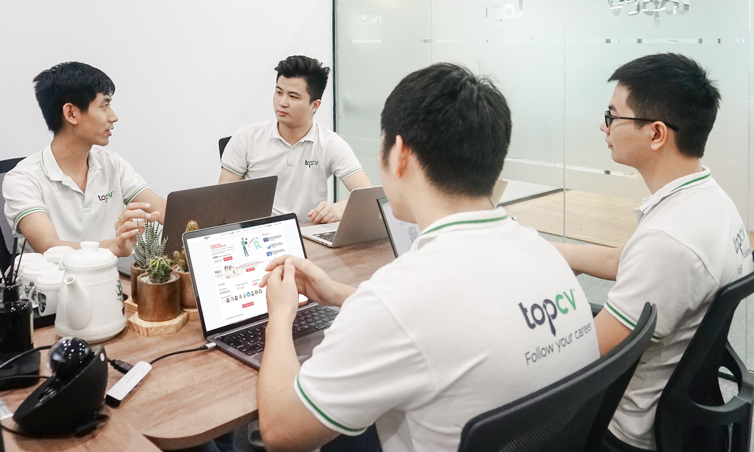 TopCV đặt mục tiêu thay đổi thị trường tuyển dụng, nhân sự Việt Nam ngày càng hiệu quả hơn. Ảnh: TopCV.