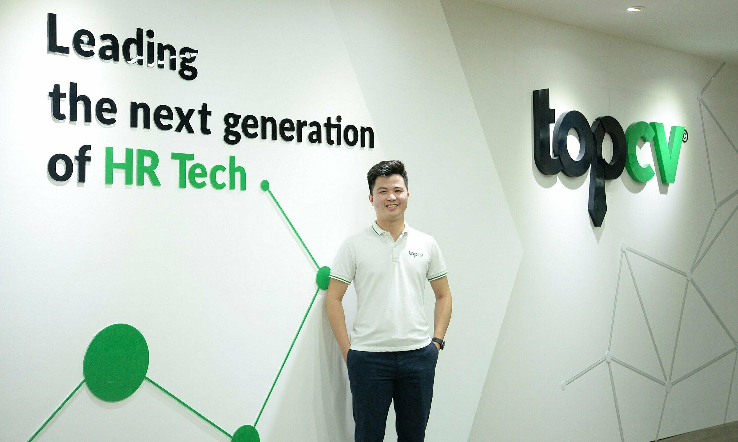 Ông Trần Trung Hiếu - Sáng lập kiêm CEO của TopCV. Ảnh: TopCV.