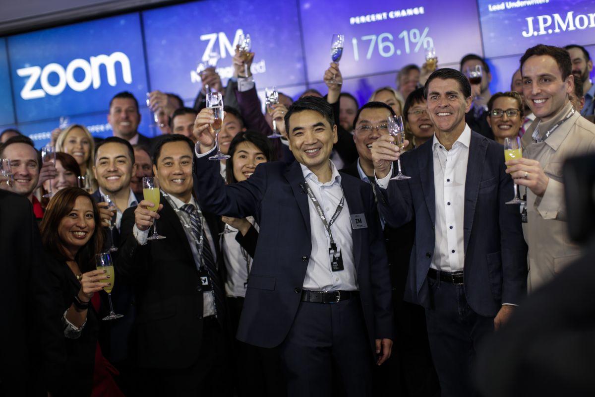 Eric Yuan, người sáng lập và giám đốc điều hành của Zoom Video Communications Inc.