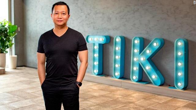 Trần Ngọc Thái Sơn, nhà sáng lập Tiki. Ảnh: CNN