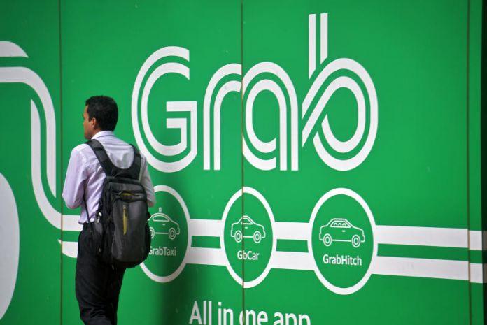 Một biển quảng cáo của Grab. Ảnh: Grab.