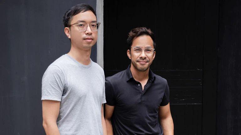 Hao Tran (bên trái) và Guy Truong, 2 người đồng sáng lập của Vietcetera. (Ảnh: Vietcetera).