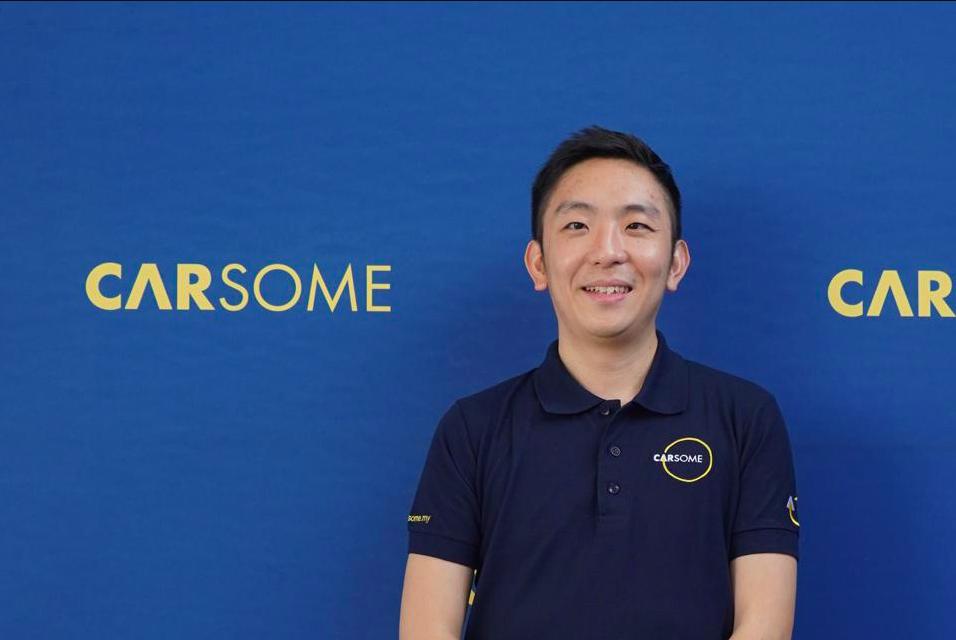 Eric Cheng - CEO của Carsome, kỳ lân khởi nghiệp mới của Malaysia. Ảnh: Carsome.
