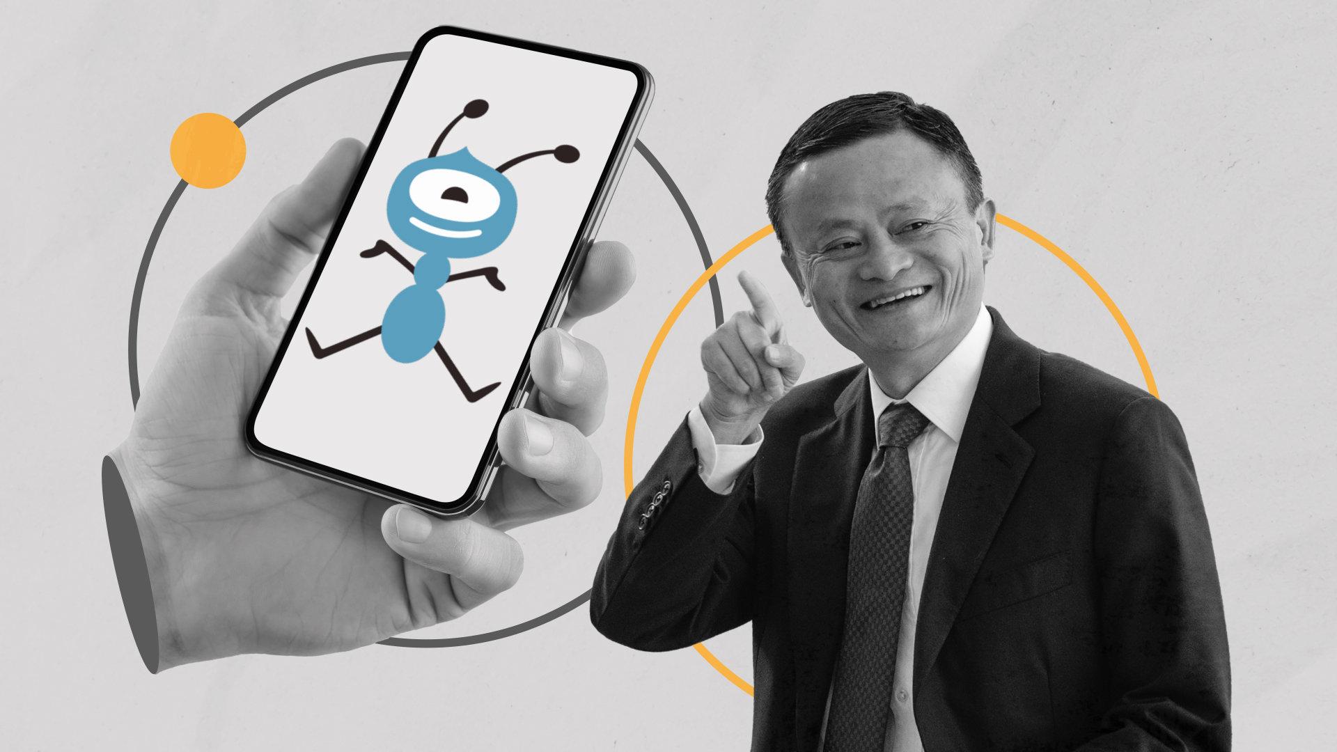 Tỷ phú Jack Ma là người đứng sau đế chế tài chính Ant Group