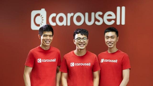 3 đồng sáng lập công ty: Siu Rui Quek, Marcus Tan và Lucas Ngoo. Ảnh: Carousell